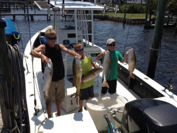 Inshore Fishing Charters in Orange Beach