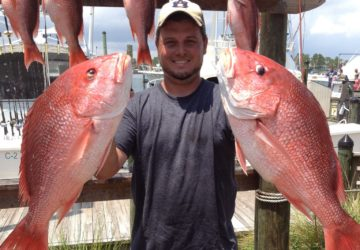 Offshore Fishing Charter in Orange Beach Red Snapper
